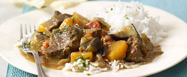 Spicy Scotch Lamb Curry