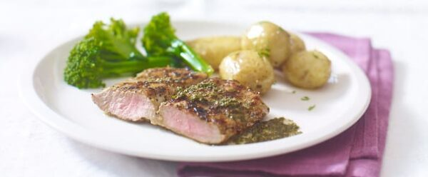 Butterflied Lemony Lamb Fillet