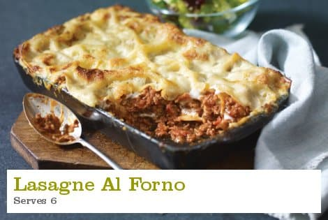 Lasagne Al Forno - S Collins & Son