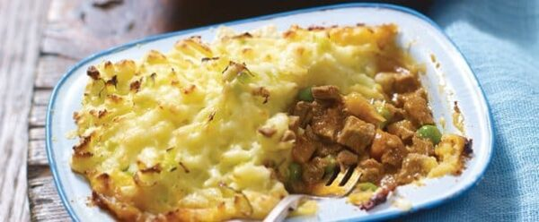 Shepherd's Pie with Cheesy Leek Topping