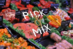 Pick & Mix – 5 for £25