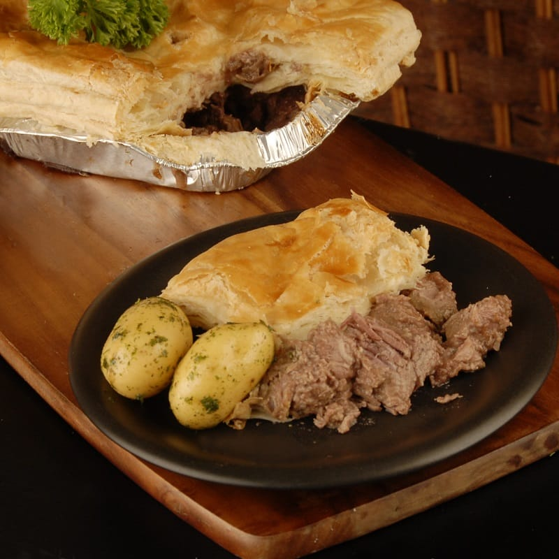 Traditional Steak Pie: West Of Scotland Champion