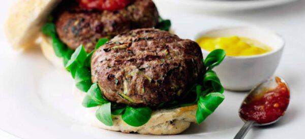 Kiev Beef Burgers
