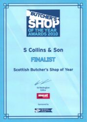 Butcher Shop of Year 2010