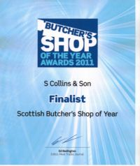 Butcher Shop of Year 2011