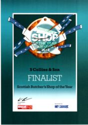 Butcher Shop of Year 2013