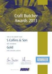 Craft Butcher Awards 2013