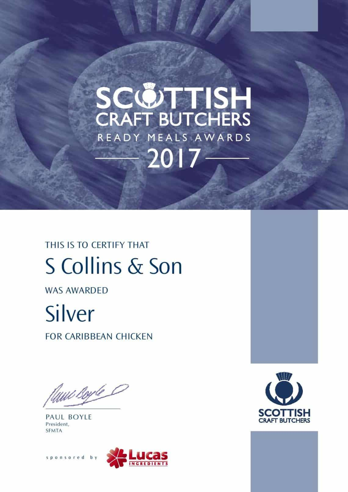 Caribbean Chicken: Ready Meal Award 2017