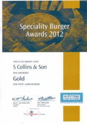 Scottish Speciality Awards 2012