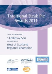 Traditional Steak Pie 2011