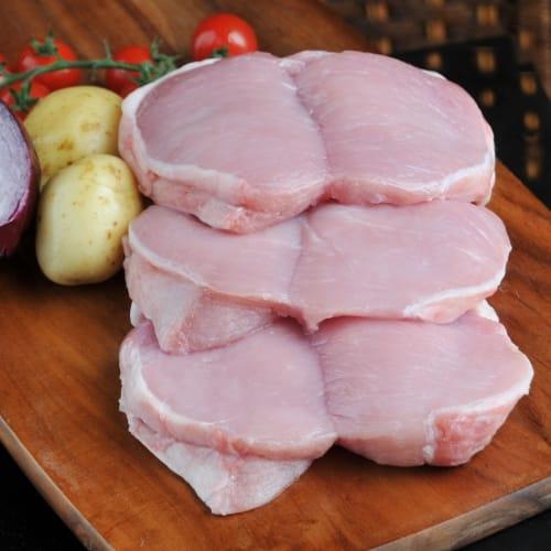 Lean and tasty boneless pork tenderloin.