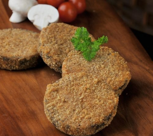 Homemade Haggis coated with our own schnitzel breadcrumbs.