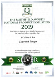 Gourmet Burger: Smithfield Awards 2019