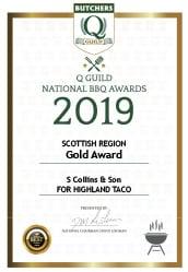 Highland Taco: Q Guild National BBQ Awards 2019