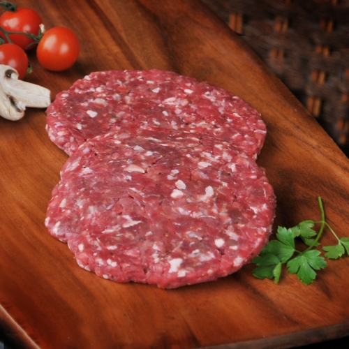 A 1/4 pound burger made with 100% pure ground Scotch beef.