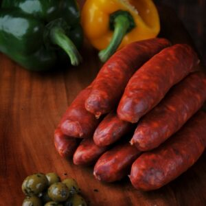 Traditional Spanish Chorizo made with pork and a hint of spice.