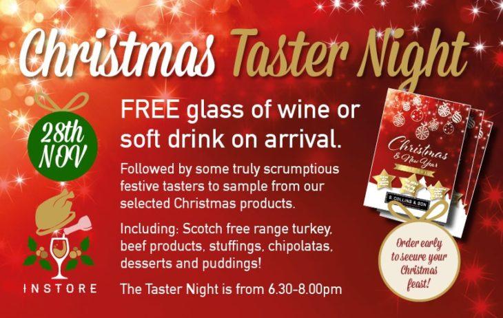 Christmas Taster Night