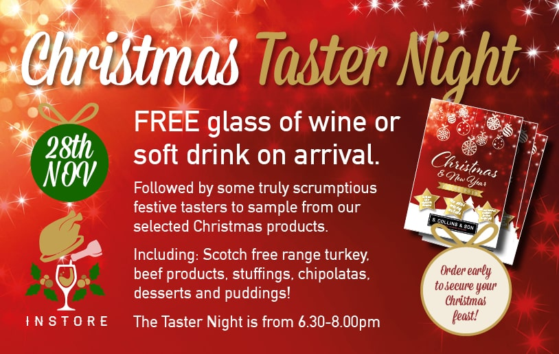Christmas Taster Night