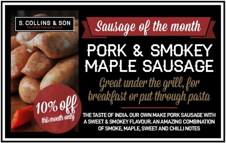 Pork & Smokey Maple Sausage